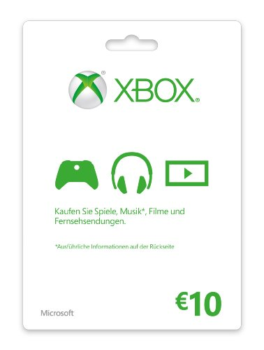 Xbox Live - 10 Euro Guthabenkarte