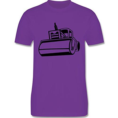 Andere Fahrzeuge - Dampfwalze - Herren Premium T-Shirt Lila