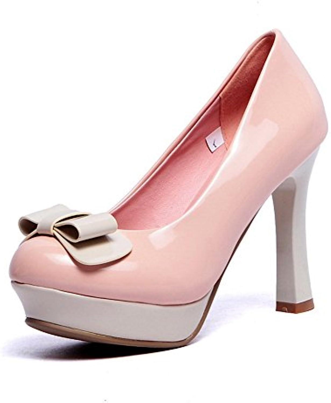 1to9 Mujer Pantalones Spun Oro con Lazo de banquete Caucho pumps-shoes -