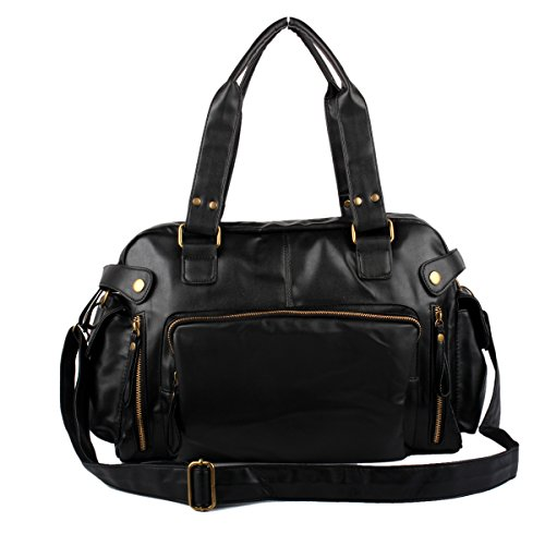 RTZLL Baodan Umhängetasche einzigen Mann Tasche große Kapazität Umhängetasche Black