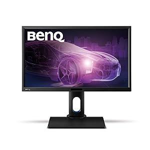 BenQ BL2420PT (23.8 Zoll) Monitor (VGA, DVI, HDMI, USB, 5ms Reaktionszeit, Höhenverstellbar, Pivot, Lautsprecher) schwarz
