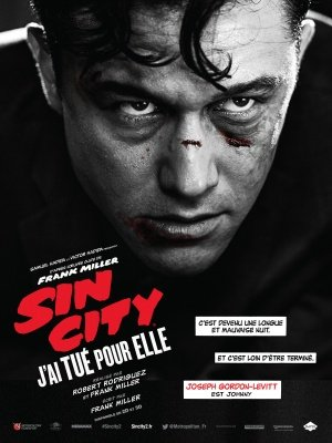SIN CITY : A DAME TO KILL FOR – Joseph Gordon Levitt – French Imported Movie Wall Poster Print – 30CM X 43CM (Dvd City Dame Kill Für Sin To)