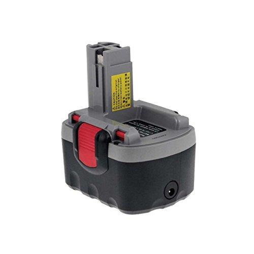 Powery Batterie pour Bosch Type/Ref. 2607335533 O-Pack Li-ION Chargeur INCL, 14,4V, Li-ION [ Batterie Outil électroportatif ]