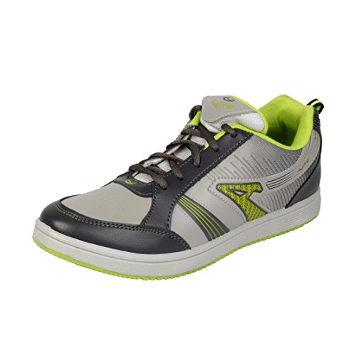 Lancer Men's Grey Synthetic Running Shoes (TS-3 LGR-DGR-PGN-40) - (6 UK)