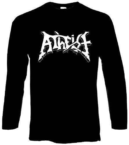 Atheist - Logo - Longsleeve Longarm Shirt - Größe Size S