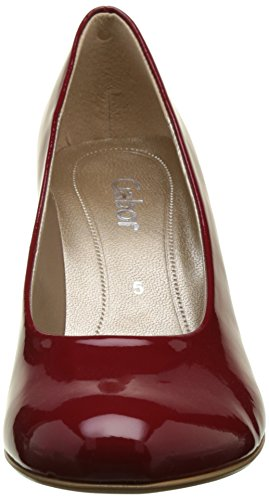 Gabor Shoes Fashion, Scarpe con Tacco Donna Rosso (cherry +Absatz 75)