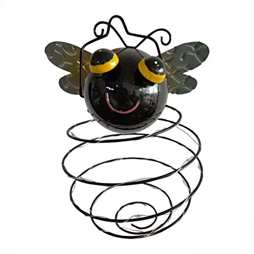 Javpoo LED Garden Lights Solar Night Lights Bee Shape