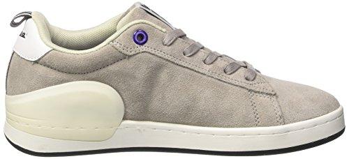 Vespa Footwear Unisex-Erwachsene Freccia Low-Top Grau