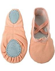 "Tante Tina - Zapatillas de ballet ""Lara"" de lino con - Bailarinas - En varios colores"
