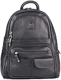 c70decca439a4 Damen Rucksack Tasche Backpack Tagesrucksack Leder Optik Cityrucksack  Stadtrucksack Schultertasche Handtasche Shopper Daypack