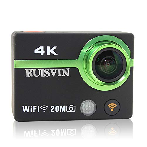 LUOJI Action Kamera Ultra HD 4 Karat Helm Cam 2,0 Zoll WiFi Sport DV Camcorder Full 1080 P Tauchen wasserdichte Kamera