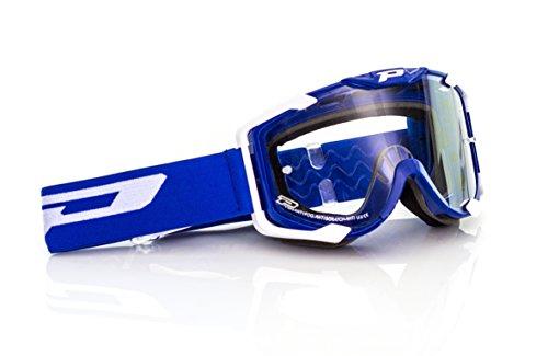 Progrip MX Brille 3400, Blau, Größe uni