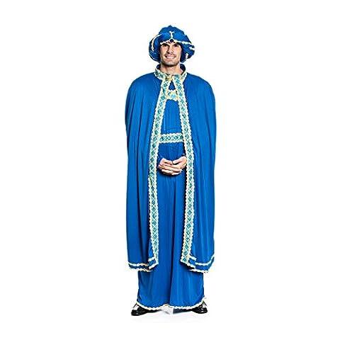 Kostümplanet® König Balthasar Kostüm Herren Hl. 3 Könige Universalgröße (Krippenspiel König Kostüm)