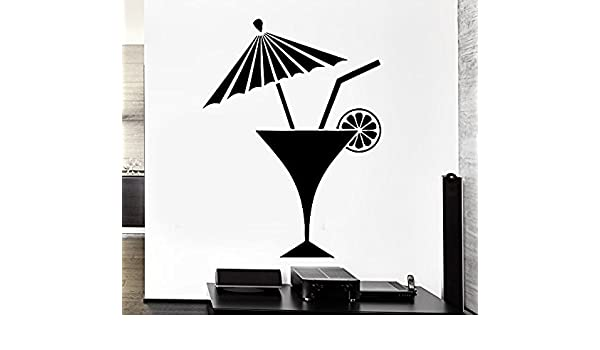 z2633 Decal Bar Drink Beach Alcohol Mojito Pop Art Cool Decor For Living Room