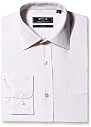 Arrow Mens Formal Shirt (8903663470826_ARES0384A_40_Beige)