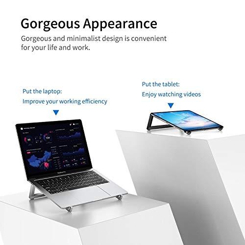 CattleBie Mini Ultradünner beweglicher Faltbarer Entwurfs-Laptop-Halter Ständer (Color : 1) -