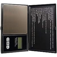 Básculas de pesaje de joyería, tamaño compacto Pantalla LCD de alta precisión Bolsillo electrónico Mini