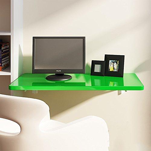 ZR-Wall Table \ Tavolo da pranzo pieghevole \ Tavolo da cucina e da pranzo \ Tavolo per bambini \ Scrivania da lavoro \ Desktop \ Libreria Computer desk-Risparmia spazio