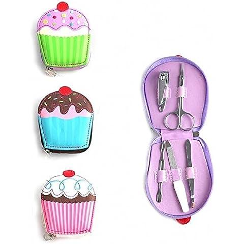 Mulhouse - Set per manicure a forma di cupcake