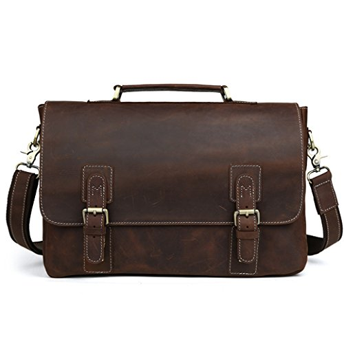 l-y-d-brown-leather-leisure-business-briefcase-14-inch-notebook-shoulder-computer-bag
