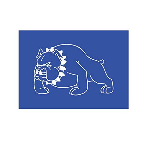 Lackierschalonen Aufkleber British Bulldog Bulldogge Hund Militär 15x10cm #A2137 (Militär-bulldog)
