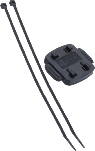 Teasi 40-12-5398 One Fix Light - Soporte de manillar con brida para cables, color negro