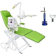 Primera Dental portátil funda para silla unidad de turbina 4H + 5 W inalámbrico LED curar