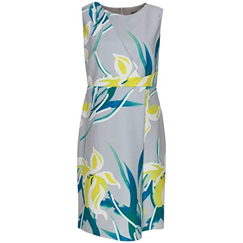 Michaela Louisa Sleeveless Floral Print Shift Dress