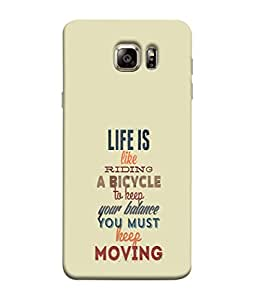 PrintVisa Designer Back Case Cover for Samsung Galaxy S6 Edge+ :: Samsung Galaxy S6 Edge Plus :: Samsung Galaxy S6 Edge+ G928G :: Samsung Galaxy S6 Edge+ G928F G928T G928A G928I (Yellow Background Sunset at a Bridge Branded Designer Case Beautiful nature Cell Cover Sunrise Sunset Smartphone Cover Unique Scenic Place )