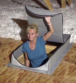 Dachboden Zelt at-5Dachboden Cover/Isolator 76,2x 152,4x 33cm Rough Öffnung