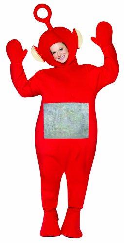 Kostüm Po aus den Teletubbies - Standard (Teletubbies Po Kostüm)