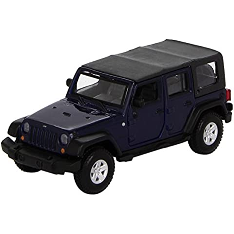 Bburago 18-43012 Street Fire Jeep Wrangler Unlimited Rubicon - Modellino in scala 1:32 - Wrangler Unlimited Rubicon