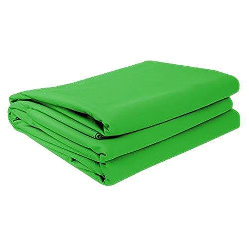 Grünes Chromakey Hintergrundtuch für Greenscreen (180cm x 160cm)