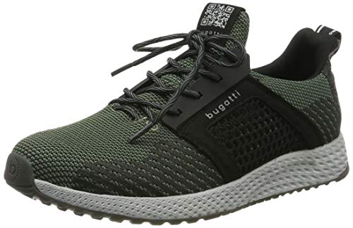 bugatti Herren 342623626900 Slip On Sneaker, Grün, 42 EU