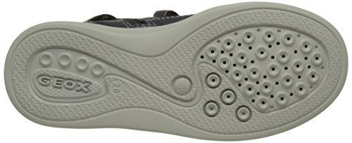 Geox J Anthor I, Sneakers Hautes Garçon Bleu (Navy/whitec4211)
