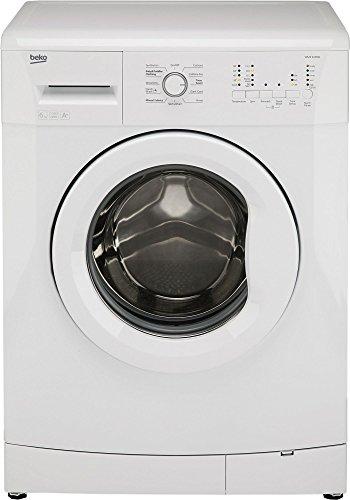 Beko White Washing Machine, 6KG Load, with 1000rpm, WMS6100W,