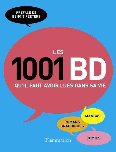 Les 1001 BD qu'il faut voir lues dans sa vie