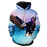Hoodies Man American Flag Pullover tragen Hoodies Tops LMWY-003 4XL