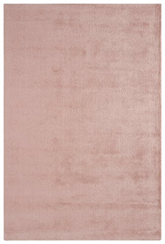 alfombra de diseño contemporáneo de fibra vegetal Alfombra Annet 120X180cm Rose Pink Rose