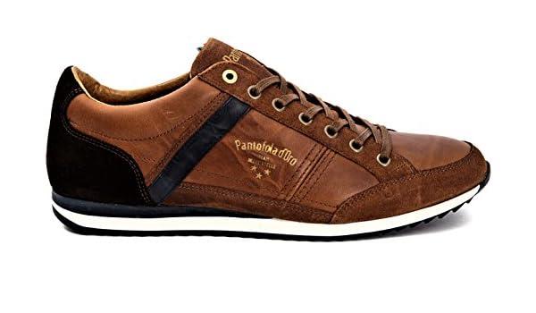 Mens Auronzo Premium Uomo Low Trainers Pantofola D'oro