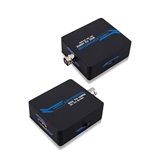 SDI zu HDMI Wandler 1080p Konverter Video Audio HD-SGI 3G-SDI zu HDMI-Geräten