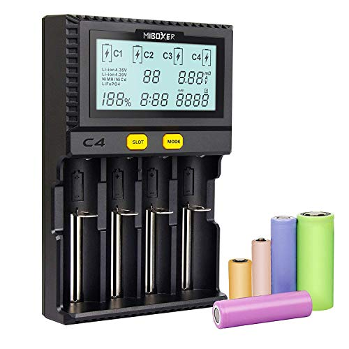 Miboxer Universal Inteligente Cargador batería 4