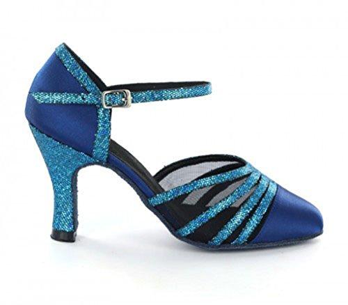 TDA - Ballroom donna 8cm Drak Blue