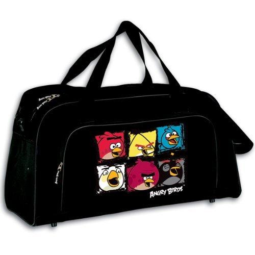 Angry Birds sac à bandoulière sac de sport sac de voyage GRAND 58x30x28cm