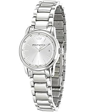 Philip Watch Damen-Armbanduhr KENT Analog Quarz Edelstahl R8253178508