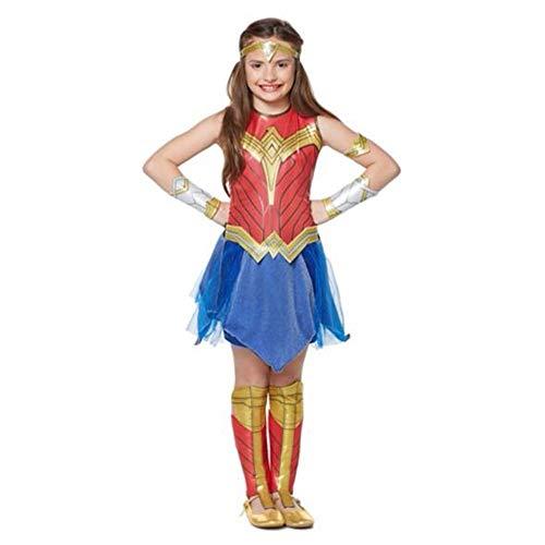 Halloween Wonder Woman Cosplay kostüm elastische sogar Kleidung kostüm Film kostüme für Kind,M (Deadpool Kostüm Womens)
