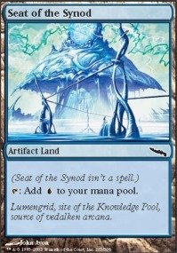 Magic: The Gathering – Sitz der Synode – Mirrodin – Folie von Magic: The Gathering