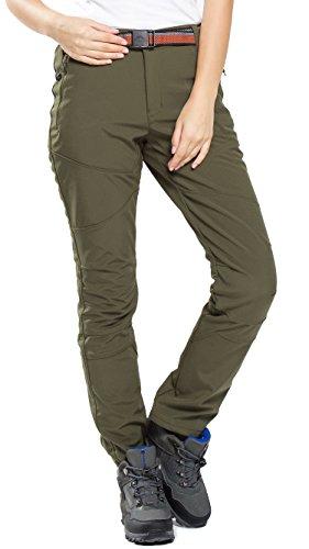 HAINES Pantaloni Trekking Donna Impermeabili Pantalone Softshell Pantaloni  Montagna Abbigliamento Escursionismo Invernali,Stile 3  c3ec288395a