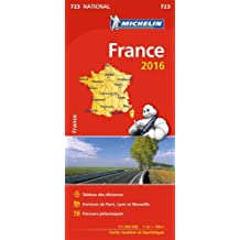 Michelin Frankreich 2016: Handatlas 1:1000000 (Michelin Nationalkarte)