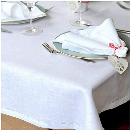 Linen & Cotton - Mantel FLORENCE Muy Elegante Tela